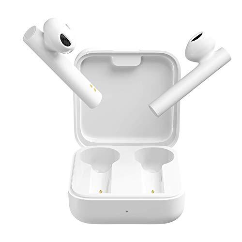 Xiaomi Mi True Wireless Earphones 2 Basic Los nuevos Auriculares Tienen una autonomía de batería más Larga, Sonido, fácil de Combinar, Color Blanco (versión Global)