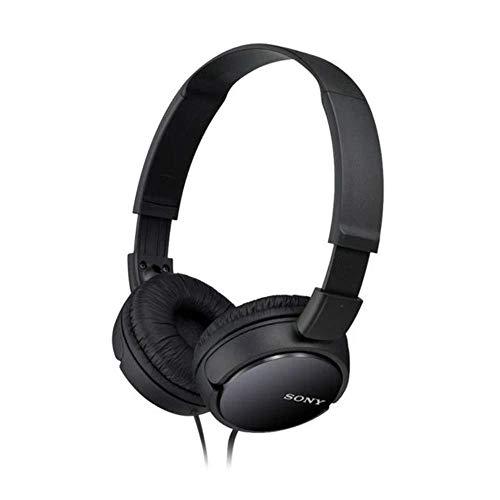 Sony MDR-ZX110 - Auriculares cerrados, negro