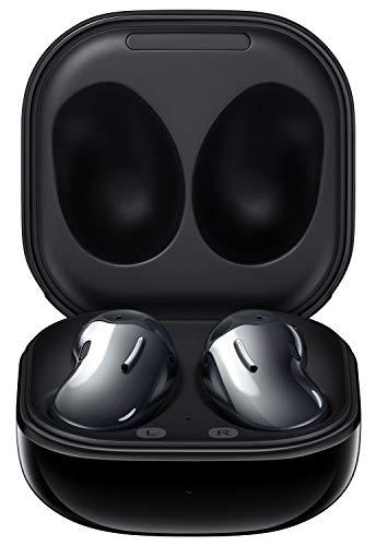 Samsung Galaxy Buds Live - auriculares bluetooth inalámbricos I 3 micrófonos I Tecnología AKG I Color Negro