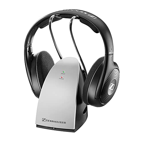 Sennheiser RS 120 II - Auriculares inalámbricos, Color Negro