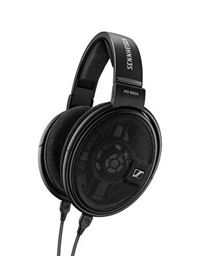 Sennheiser HD 660 S Auriculares Dinámicos Abiertos para Audiófilos, Negro, Circumaurales