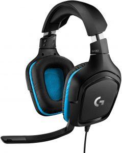 cascos gaming logitech g432
